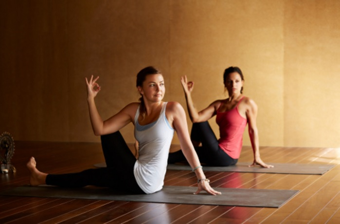 Yoga stretches to help self suck